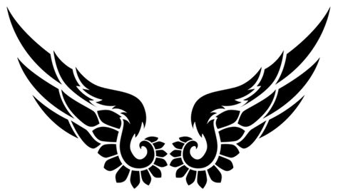 wing tribal tattoos 18 beautiful tribal wings tattoos only tribal