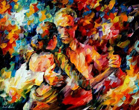 imagenes realistas artes visuales artes visuales tango of love de leonid afremov