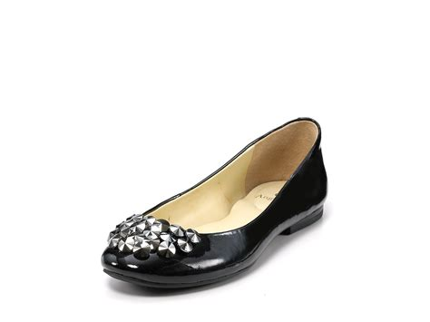 enzo shoes flats enzo angiolini flats claton studded ballet in black clay