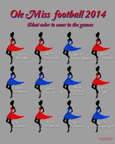 ole miss colors ole miss 2016 football schedule what to wear colors ole