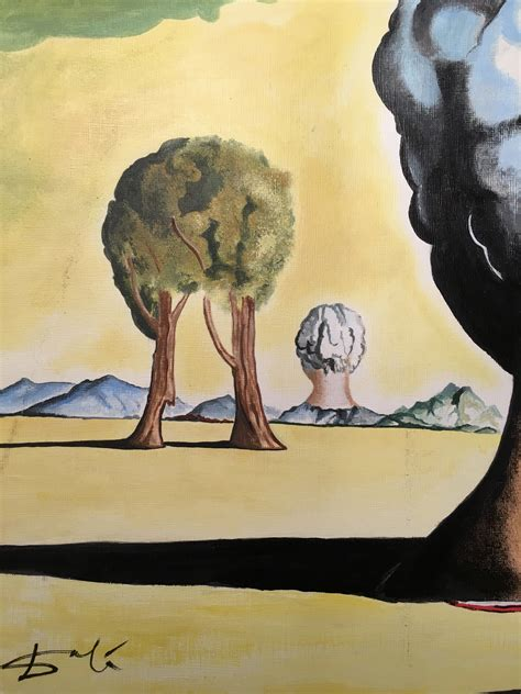 3 Paintings By Salvador Dali by Salvador Dali Original Signed Vintage