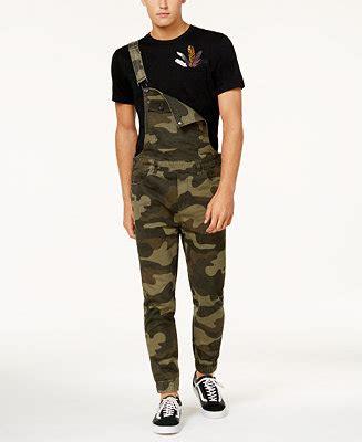 american rag mens camo overalls created  macys pants men macys