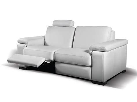 modern style reclining loveseat modern reclining sofa granados by seduta d arte sofas