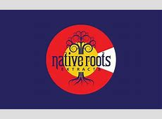 Native Roots Extracts Canvas V And S Logo Design