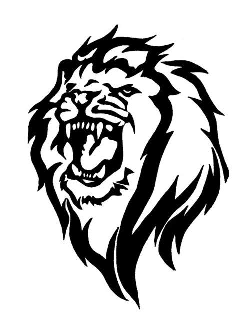 tattoo tribal lion head tribal lion tribal lion tribal art pinterest