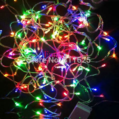 200 led 20m string fairy lights christmas xmas 64ft