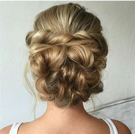 Updo Hairstyles For Hair by 25 Chic Updos For Medium Length Hair Hairstyles Weekly