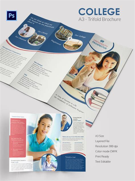 college brochure template 34 free jpg psd indesign