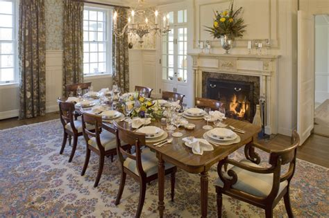 Georgian Dining Room by Georgian Manor Dining Room Traditional Dining Room