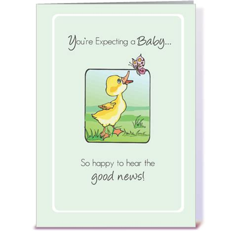 Card Expecting Baby - 2783 expecting baby congratulations duck greeting card by