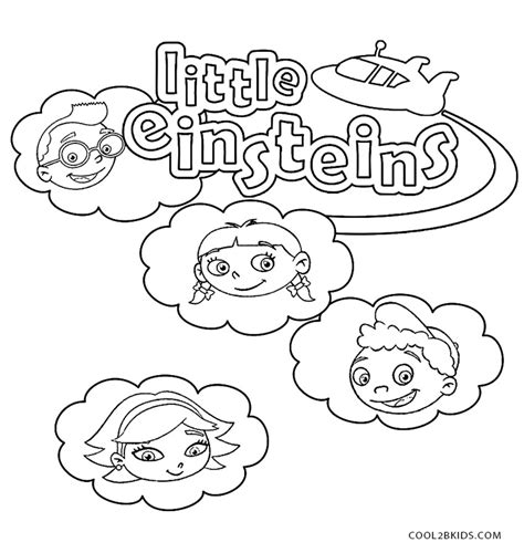Printable Little Einsteins Coloring Pages For Kids Einsteins Coloring Pages