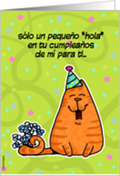 free printable birthday cards espanol spanish birthday cards from greeting card universe