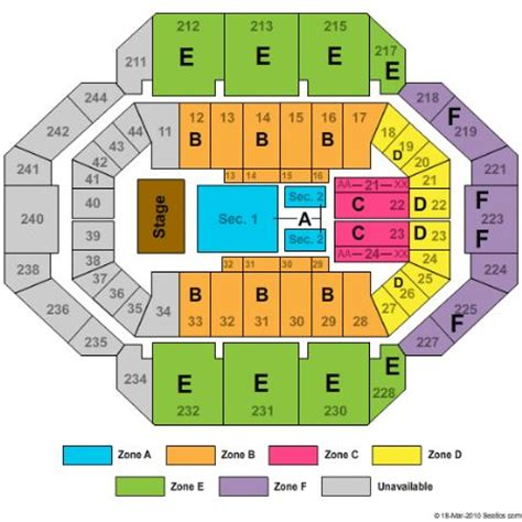 rupp arena floor plan rupp arena tickets and rupp arena seating chart buy rupp arena tickets ky at stub