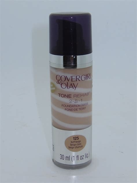 New Foundation Detox by Covergirl Olay Tone Rehab 2 In 1 Foundation Review