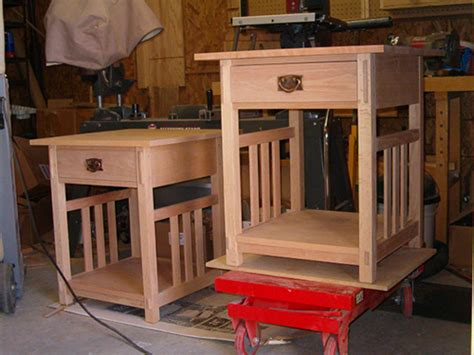 arts  crafts style  tables woodworking blog