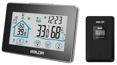 baldr wireless thermometerhygrometer
