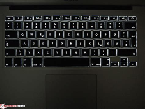 Keyboard Air review apple macbook air 13 mid 2013 md760d a subnotebook notebookcheck net reviews