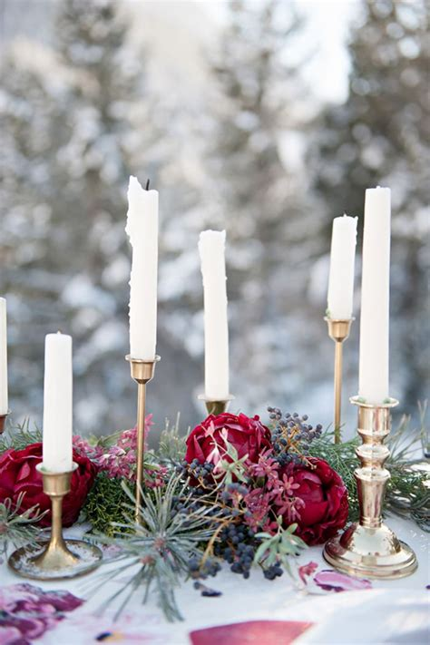 winter table top 20 tablescape ideas for winter wedding