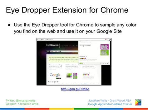 color dropper chrome pimp my site customization options for