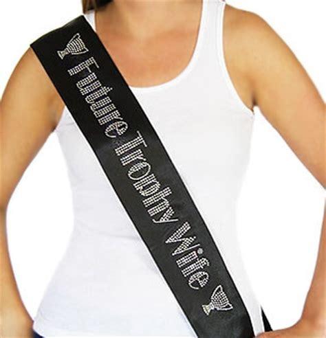 house of bachelorette future trophy wife rhinestone satin luxury bride sash the house of bachelorette