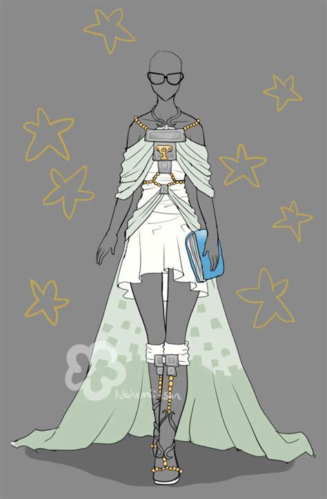 Kuki Style Take Me To Your Healer White shameless contest advertisement dress by nahemii san on