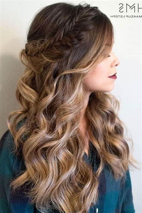 25 best long hairstyles for 2018 half ups upstyles plus 2018 popular long hairstyles half