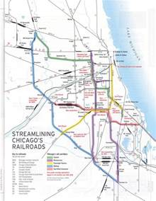 Chicago Rail Map by Chicago Is The Nation S Railroad Capital