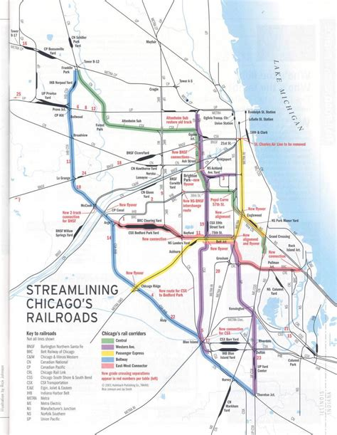chicago rail map chicago is the nation s railroad capital