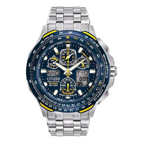 Relógio Masculino Citizen Eco   Drive Blue Angels Jy0040 59l   R$ 2.799,99 em Mercado Livre