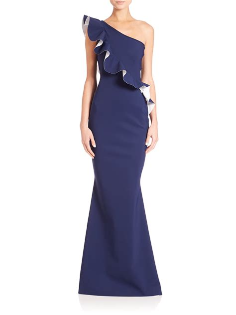 Dress La lyst la robe di chiara boni one shoulder ruffle