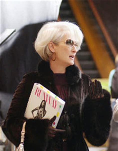 the hairstyle of the devil meryl streep would do a devil wears prada sequel