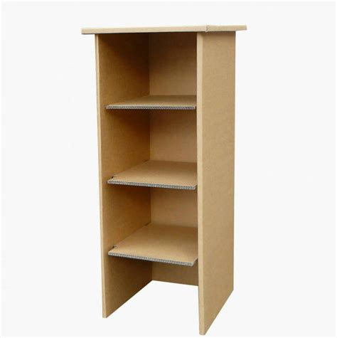 children s cardboard bookcase kit by cardboard