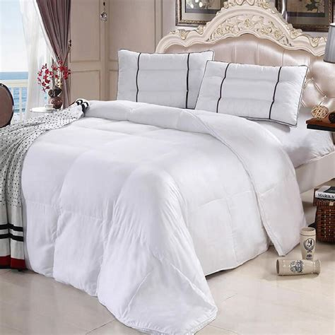 bamboo down comforter 100 soft bamboo white down alternative comforter luxury