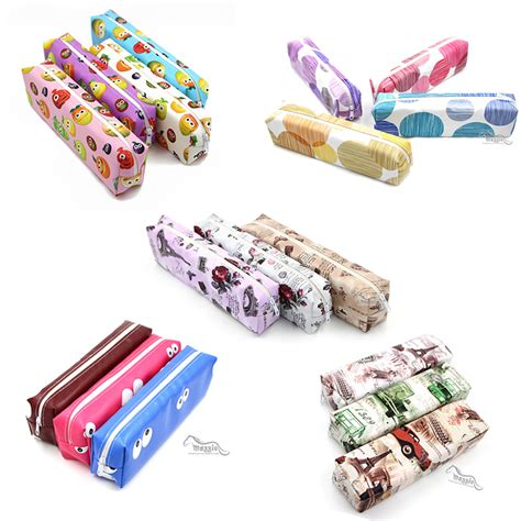 Printed Pencil Bag office stationery pencil wholesale china colorful
