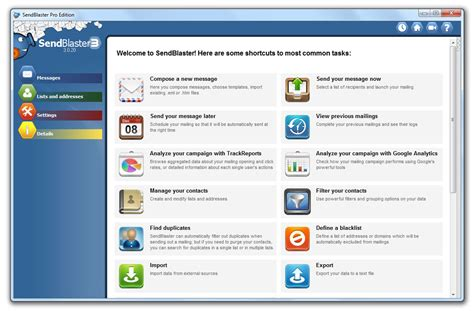 best mailing list software bulk email software mass email software sendblaster
