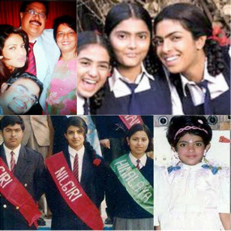 priyanka chopra early life photos 20 rare childhood pictures of bollywood stars that you