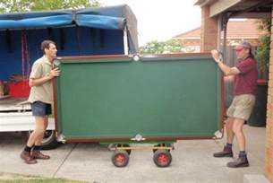 pool table kitchener moving service