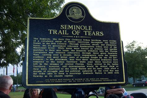 The Seminole Indians Of Florida Genealogy Trails Happy   day 2 trail of tears motorcycle ride bowie tx to
