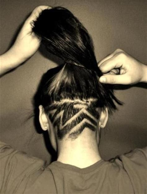 shaved haircut designs tumblr undercut design undercuts designs pinterest