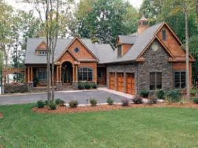 Cabin Style Home Lakeside Cottage House Plan Cottage House Plans One Story