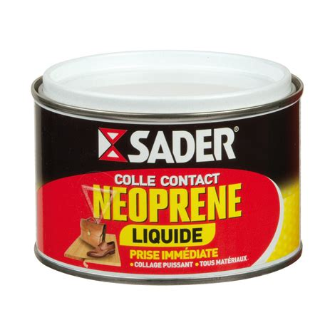 Colle Neoprene Mode D Emploi by Sader Colle Contact N 233 Opr 232 Ne Liquide