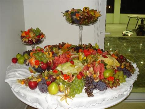 fruits table picture of infinity blue resort spa