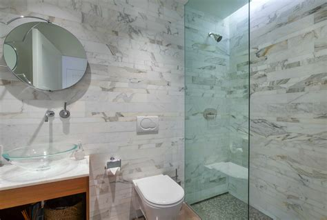 Bathroom Toilet Float Glass Vessel Sinks Powder Room Contemporary With Accent