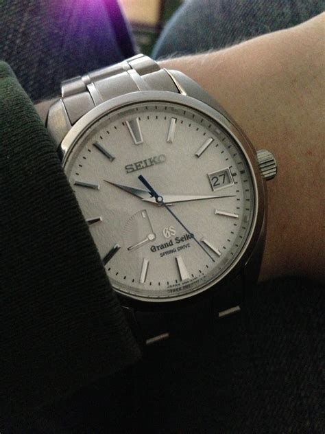 my new seiko quot snowflake quot sbga011 my quot real quot