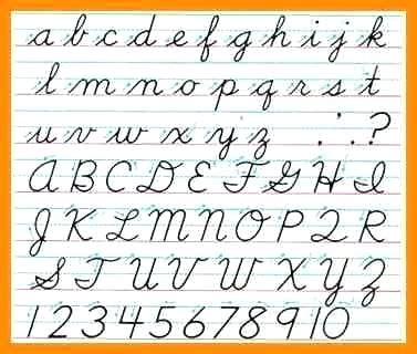 how to make a cursive f in addition to write a cursive t