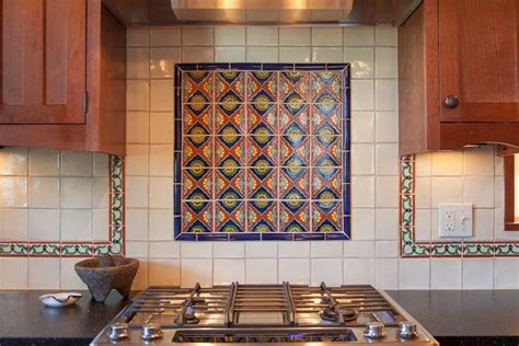 mexican tile backsplash kitchen best mexican tile backsplash cabinet hardware room