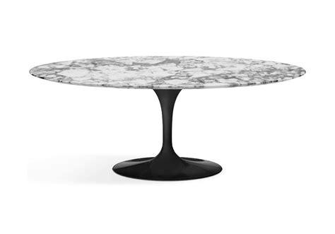 table saarinen prix saarinen table basse oval de marbre knoll milia shop