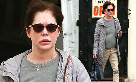 lara flynn boyle showcases  youthful complexion  la