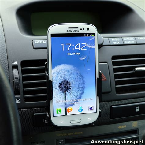 Auto Handyhalter by Universal Auto Handyhalterung F 252 R Samsung Galaxy S3 I9300
