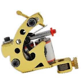 tattoo golden gun tabooink tattoo supply golden tattoo machine gun for